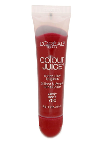L'Oreal Color Juice Sheer Juicy Lip Gloss   #700 Candy Apple