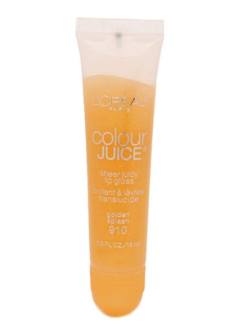 L'Oreal Color Juice Sheer Juicy Lip Gloss   #910 golden splash