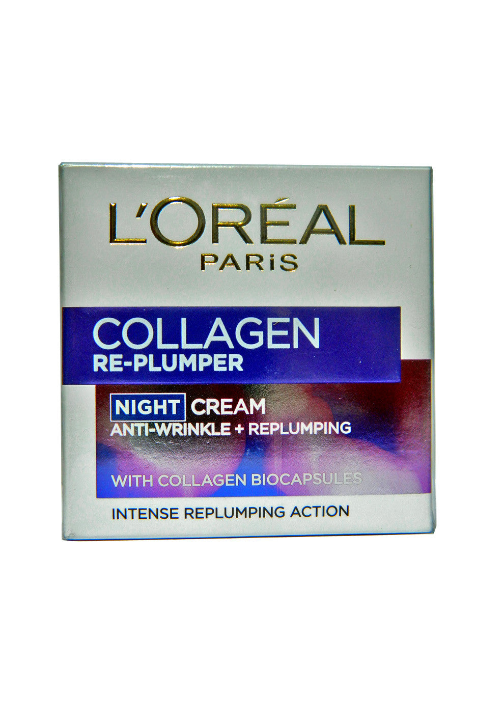 L'Oreal Collagen Anti-Wrinkle Re-Plumper Night Cream 50ml