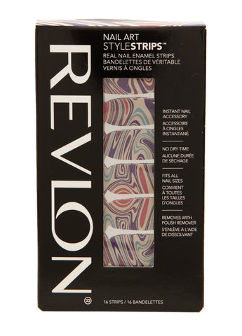 Revlon NAIL ART STYLE Stripes #1220a Marble Arts