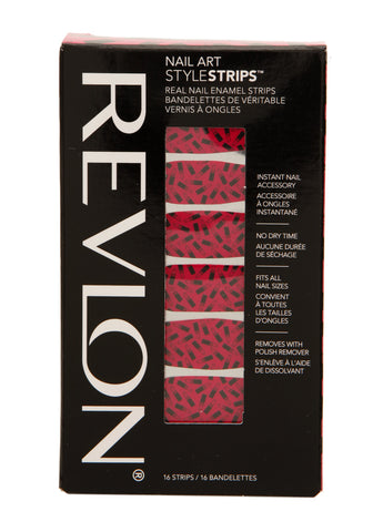 Revlon NAIL ART STYLE Stripes #12172 Flaming Fishnet