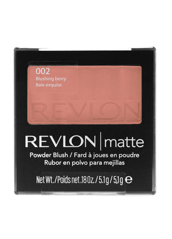 Revlon Matte Powder Blush  #002 Blushing Berry