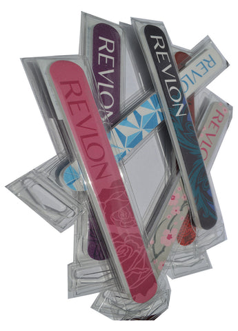 Revlon Diamond collection nail file x 2 (assorted colours)