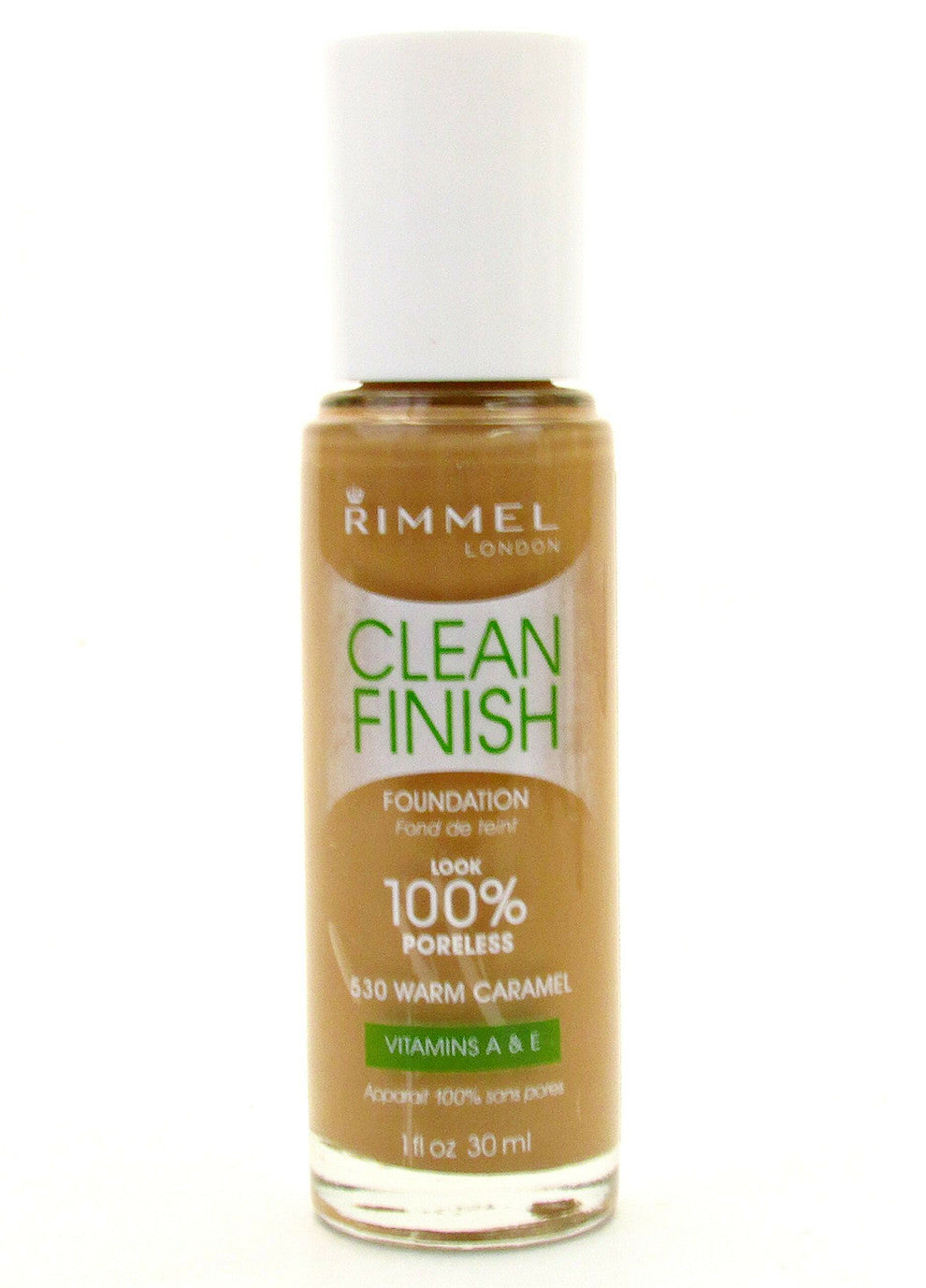 Rimmel Clean Finish Foundation #530 Warm Caramel
