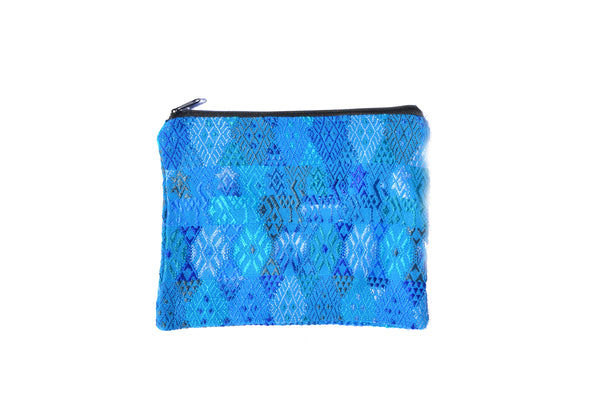 Huipil Clutch - Assorted Blues