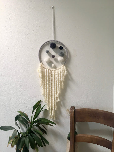 Pompom Dream Catcher