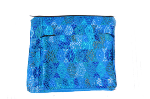 Huipil Wet Bikini Bag - Assorted Blue