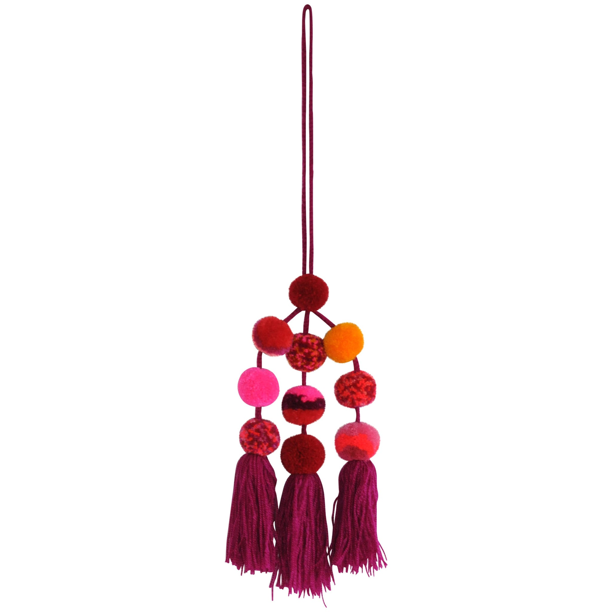 Pompom Cluster - Large - Assorted Pinks and Purples