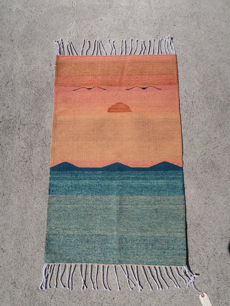 Oaxacan Sunset Rug Natural Dyes Wool