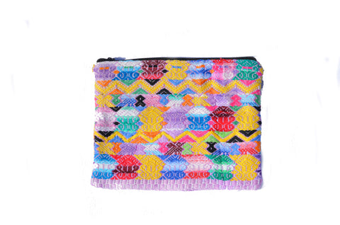 Huipil Clutch - Assorted Whites