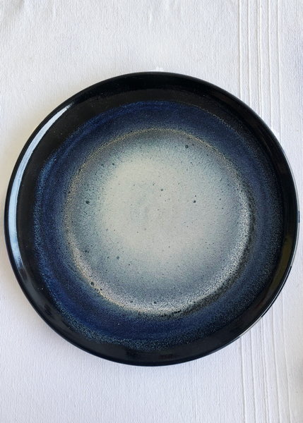 Ceramic Large Platter in Galaxy Glaze