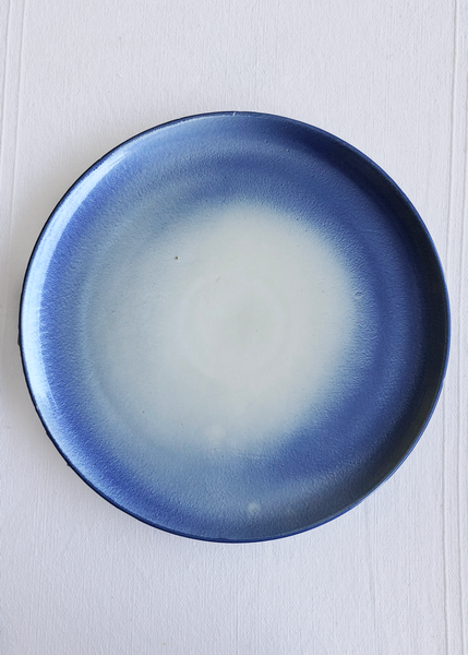 Ceramic Large Platter in Sky Glaze