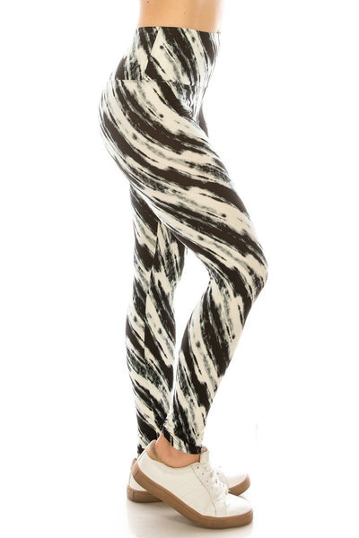 Striped For All Yoga Style Knit Legging