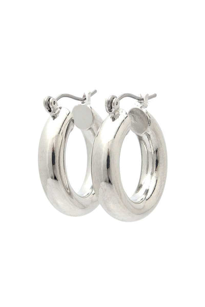 Check In Tonight Tube Hoop Earring