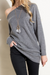 All On Time Off Shoulder Sweatshirt