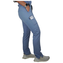 Load image into Gallery viewer, Light Blue Scrub Pants