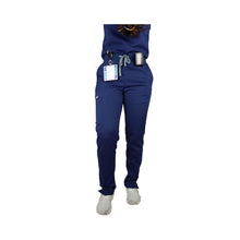 Load image into Gallery viewer, Navy Scrub Pants
