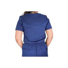 Load image into Gallery viewer, Navy Scrub Top