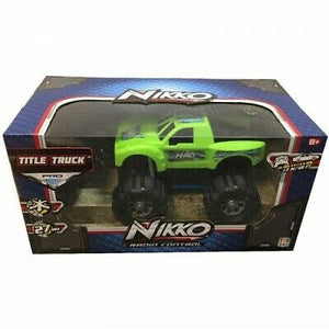 NIKKO RC TITLE TRUCK GREEN