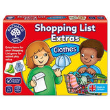 091 SHOPPING LIST EXTRAS CLOTHES