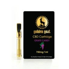 Golden Goat 1 ml Cartridge Grape Candy 750mg - ESWSupply