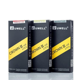 UWELL CROWN 3 REPLACEMENT COIL (PACK OF 4) - The King of Vape