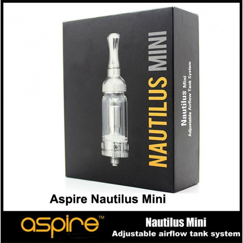 SPIRE MINI NAUTILUS ADJUSTABLE AIRFLOW TANK SYSTEM - Ohm City Vapes
