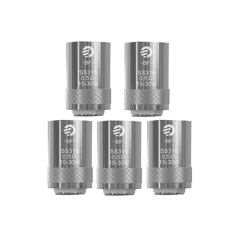 JOYETECH EGO AIO SS316 REPLACEMENT COILS 0.6OHM (PACK OF 5) - Ohm City Vapes