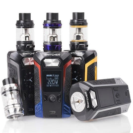 VAPORESSO SWITCHER 220W TC STARTER KIT WITH 5ML NRG TANK - The King of Vape