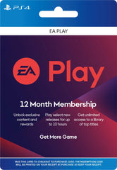 EA 12 month (PlayStation)