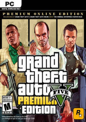 GRAND THEFT AUTO V 5 (GTA 5): PREMIUM ONLINE EDITION
