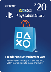 US - PlayStation PSN Card 20$