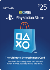 US - PlayStation PSN Card 25 $