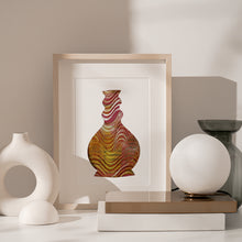 Load image into Gallery viewer, Wavy vase poster