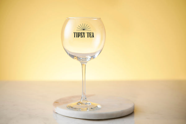 Tipsy Tea Gin Cocktail Glass