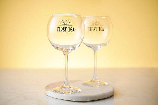 Set Tipsy Tea Gin Cocktail Glass