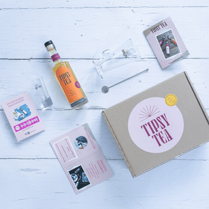 Alcoholic tea afternoon gift set