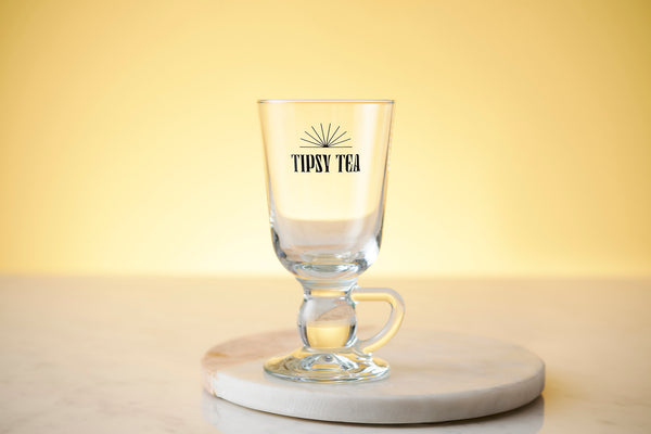 Glass Tipsy Tea Cup
