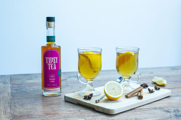 Tipsy Tea Alcoholic Tea Liqueur Cocktail Spiced Chai