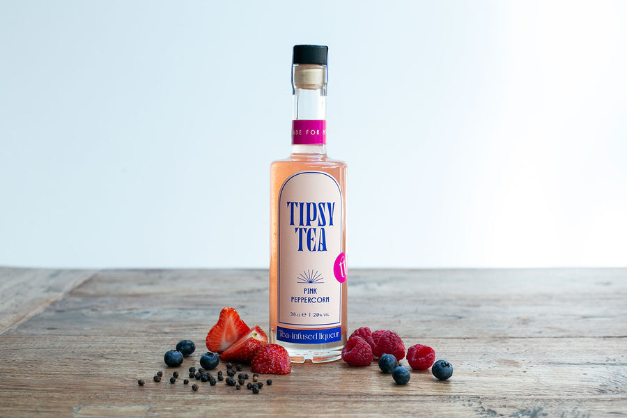 Tipsy Tea Alcoholic Tea Liqueur Pink Peppercorn