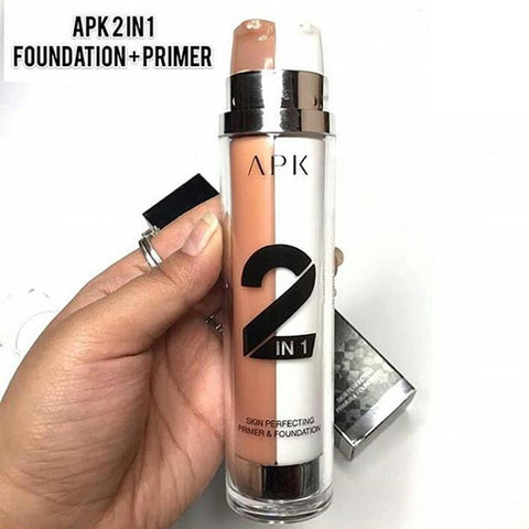 APK 2 in 1 Skin Perfecting Primer & Foundation