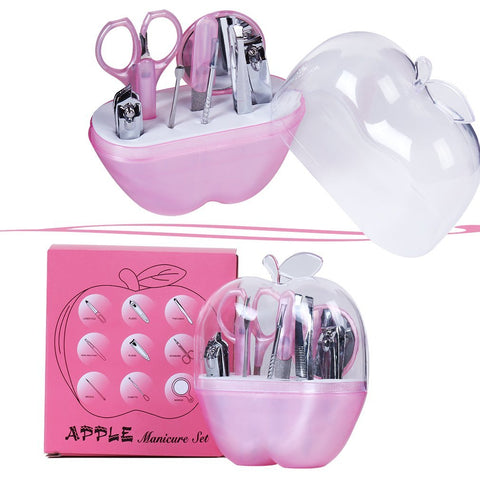 Professional nails Apple shape products set for nail care all rounder manicare tools