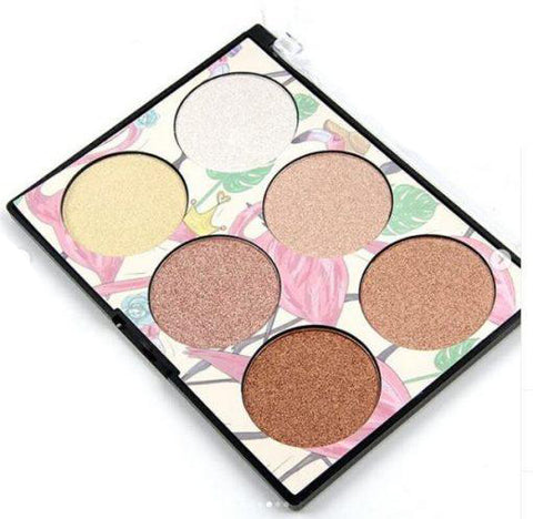 Miss Rose Professional Makeup Highlighter Glow Kit 6 in 1 large