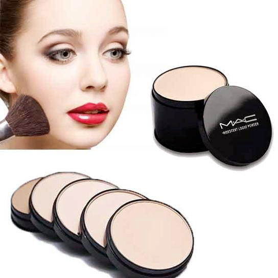 5in1 MAC Face Powder, Diamond Fish stylish makeup complete brushes set & Beauty Blender Quality Made deal with cheapest price