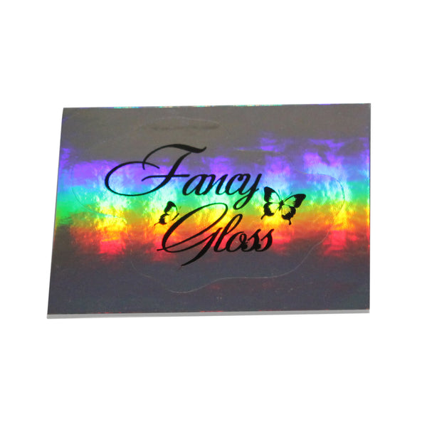 Fancy Gloss holographic sticker