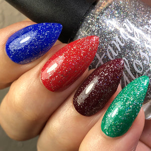 Holo flakies top coat
