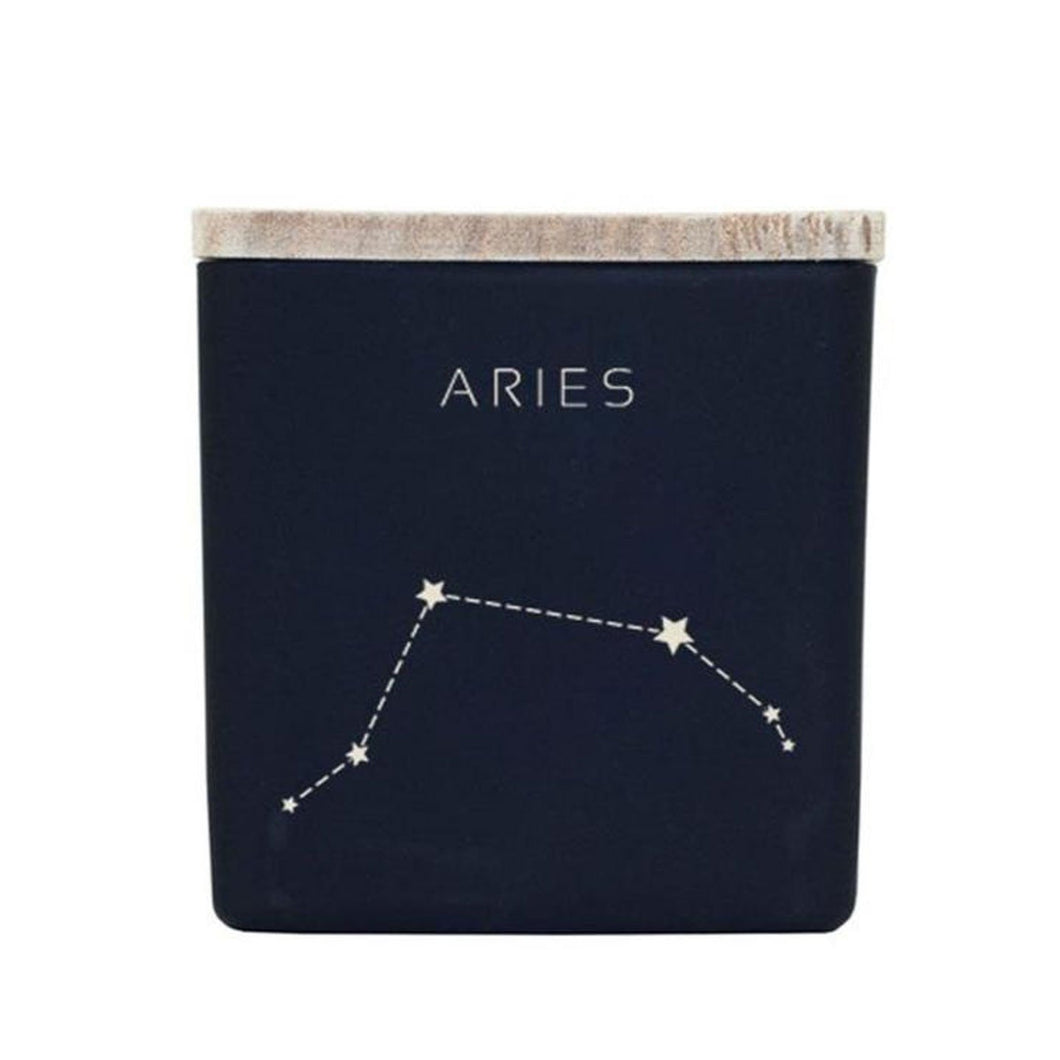 Astrology Candle - Black