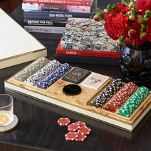 Load image into Gallery viewer, Shagreen Poker Set