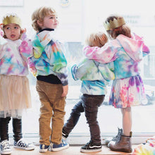 Load image into Gallery viewer, Tie Dye Kids Hoodie