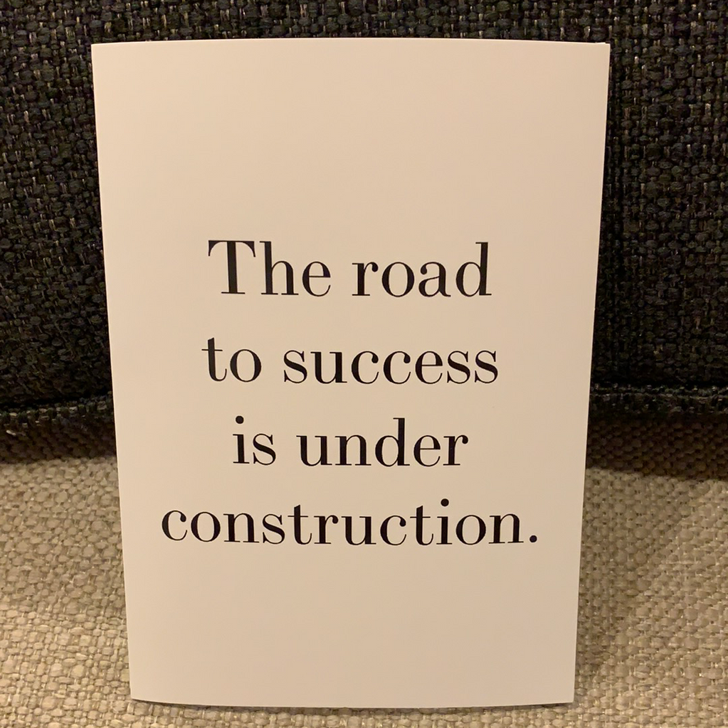 Retrospect The Road To Success Is Under Construction